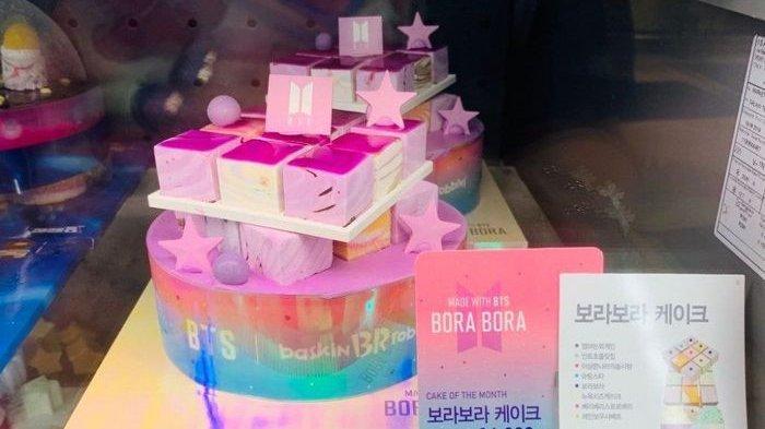 Sempat Kontroversi '7 Cake' dengan BTS, Baskin Robbins Tebus Kesalahan dengan Es Krim Varian Baru