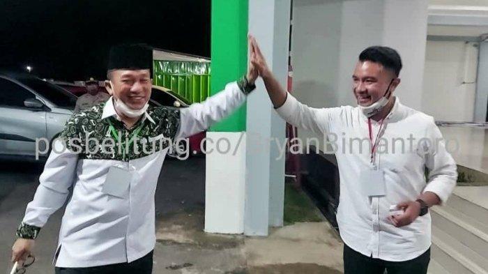 Tos Burhanudin dan Yuri Kemal Akhiri Debat Publik Kedua Pilkada Belitung Timur
