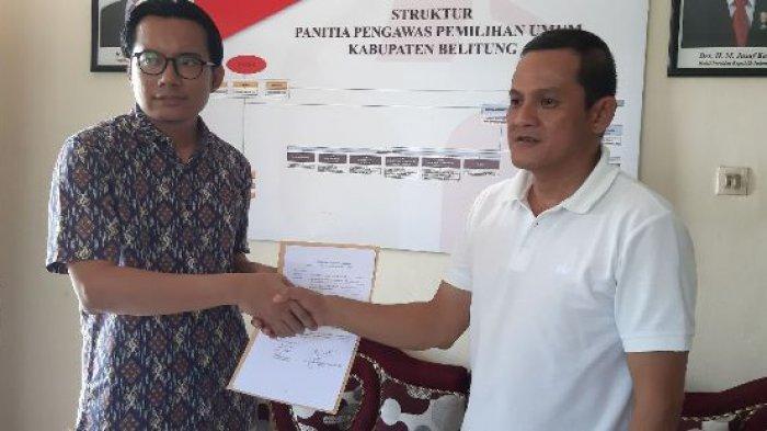 Bawaslu Belitung Kaji Laporan Caleg Golkar soal Dugaan Tindak Pidana Pemilu