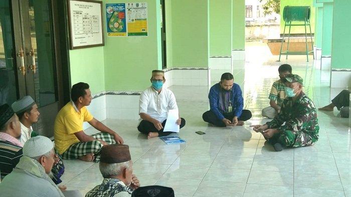 Forkopimcam Sosialisasikan SE Menteri Agama, Salat Tarawih di Rumah Saja