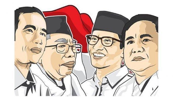 Perbandingan Elektabilitas Jokowi Vs Prabowo Menurut 7 Lembaga Survei