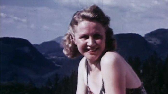 Eva Braun, istri Adolf Hitler.