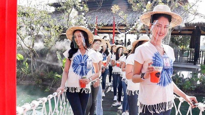 Sebanyak 30 calon Miss Thailand ikuti pemotretan