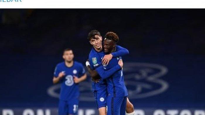 HASIL LENGKAP PIALA LIGA INGGRIS, Chelsea Libas Barnsley 6-0, Arsenal Singkirkan Leicester 2-0