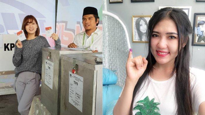 7 Seleb Indonesia Gunakan Hak Pilih di Pilkada 2018, Ada yang Belum Mandi