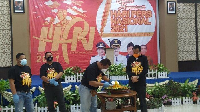 Peringatan HPN 2021, Ketua Pokja Wartawan Belitung Sebut Wartawan Abal-abal Jadi Persoalan Terbanyak