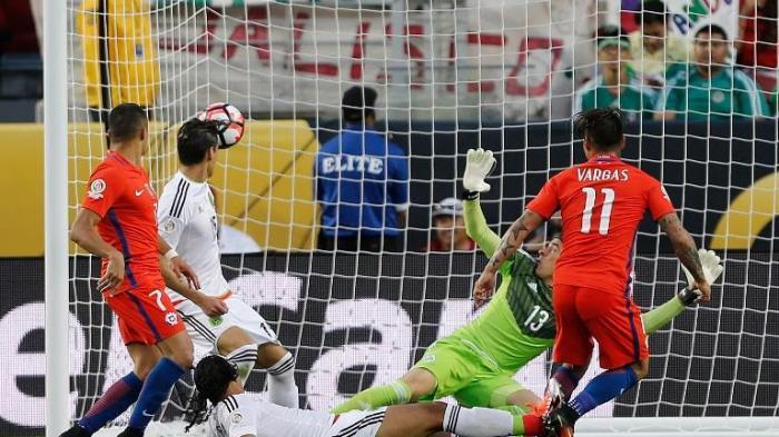 Lihat Ini Cuplikan Tujuh Gol Cile ke Gawang Meksiko