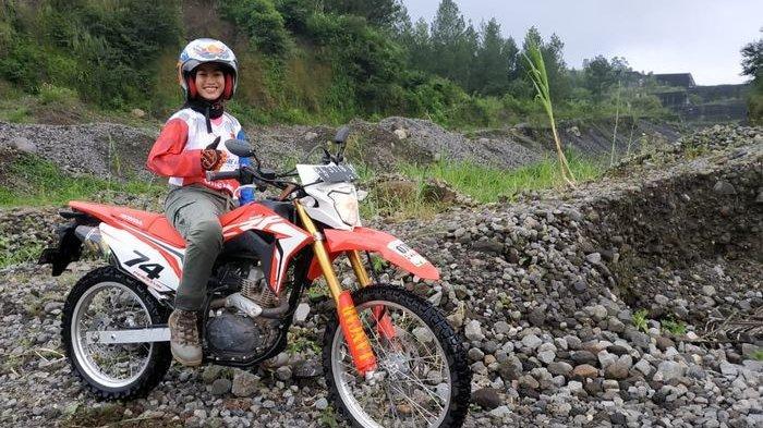 Sosok Cindy, Satu-Satunya Perempuan di Honda Adventure Days 2019