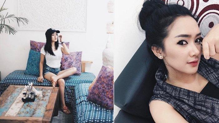 Foto Cita Citata Pakai Gaun Model Kemben Terlihat Bagian Itunya Beredar, Netter Heboh Kok Item Ya
