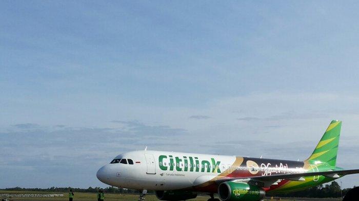 Pesawat Citilink Kembali ke Jakarta Akibat Jarak Pandang di Bawah Standar