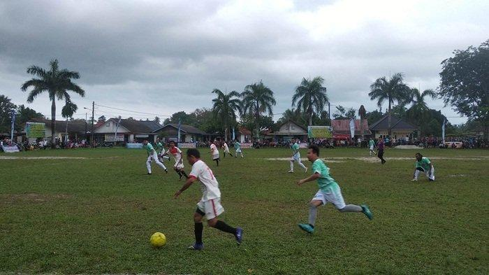 Tim Mess 14 Taklukkan Cola-Cola FC Polres Pangkalpinang 2-1