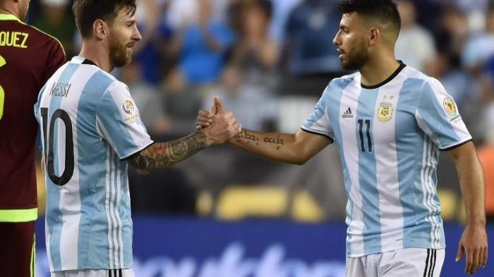 (VIDEO) : Inilah Gol Kemenangan Argentina kontra Venezuela