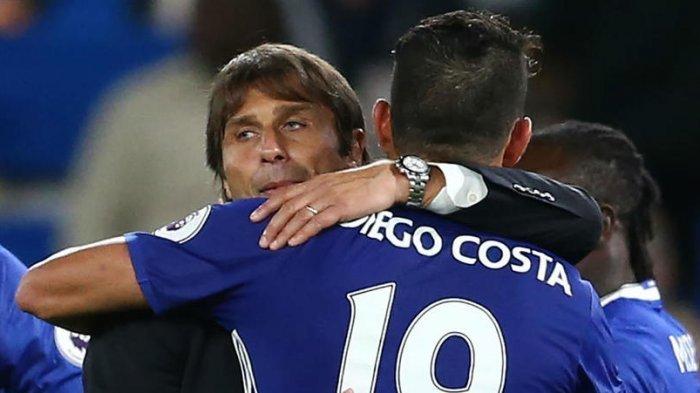 Diego Costa Didesak Rekan Setim Minta Maaf pada Antonio Conte