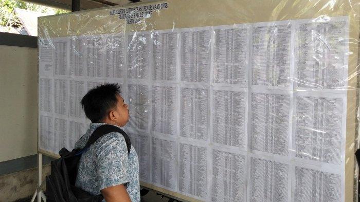 Peserta Seleksi CPNS Harus Bawa 4 Dokumen Ini Sebelum Tes, Tak Bisa Tunjukkan Dinyatakan Gugur