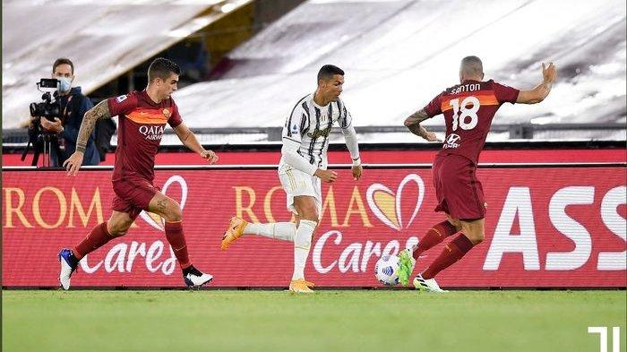 Hasil Lengkap dan Klasemen Liga Italia, Juventus Kembali Bergantung Ronaldo, Imbang 2-2 Lawan Roma