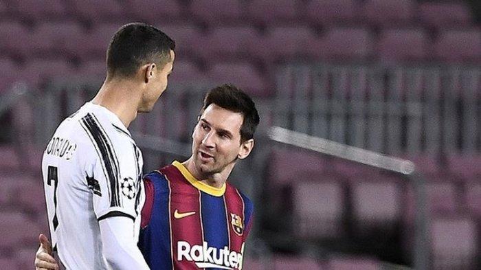 Cristiano Ronaldo dan 2 Pemain Top Dunia Ingin Mencuri Kaki Kiri Messi yang Cetak 205 Gol