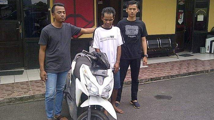 Pak To Sempat Gadaikan Sepeda Motor yang Dicurinya, Uangnya untuk Keperluan Ini