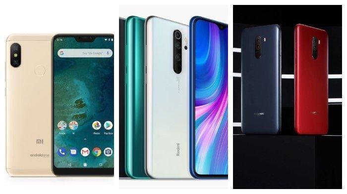 Terbaru Harga HP Xiaomi Bulan Maret 2020, Note 8 Pro hingga Mi Note 10 Pro