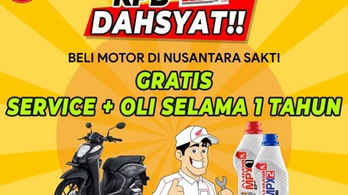 Dahsyatttt Beli Motor Honda di NSS Manggar Gratis Oli Selama Setahun
