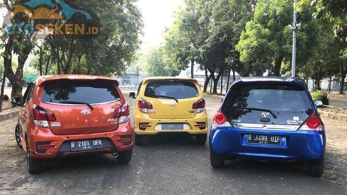 Ini Ketatnya Persaingan Harga Bekas Mobil Daihatsu Ayla Vs Toyota Agya Vs Honda Brio Satya