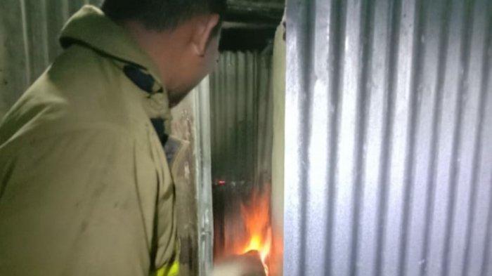 Tabung Gas LPG Bocor Rumah Nyaris Terbakar, Pemilik Alami Luka Bakar
