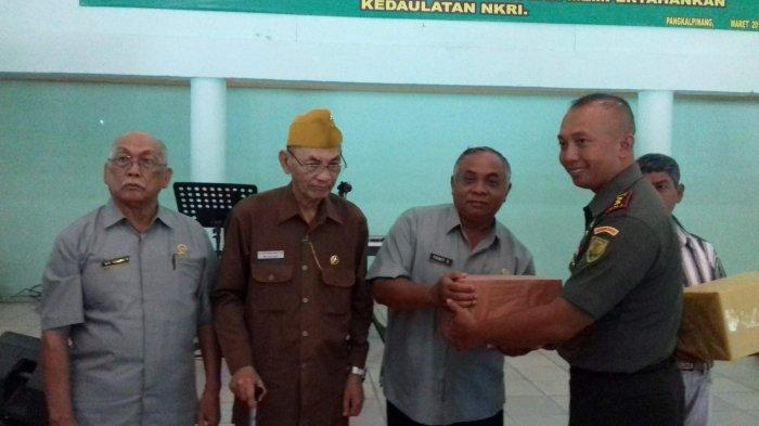Dandim 0413 Bangka Silaturahmi Bersama Keluarga Besar TNI