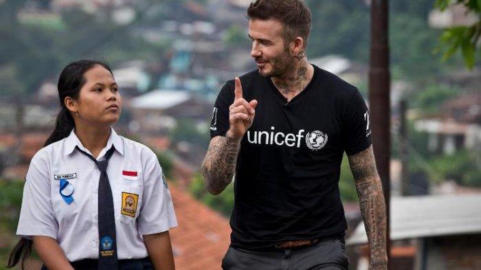 Duta Kehormatan UNICEF David Beckham Berempati atas Bencana di Palu