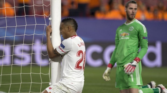 Penampilan Gemilang David de Gea Selamatkan Manchester United, Menahan Imbang Sevilla