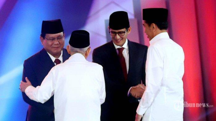 Live Streaming Debat Pilpres 2019 Jokowi dan Prabowo, Saksikan Via Ponsel