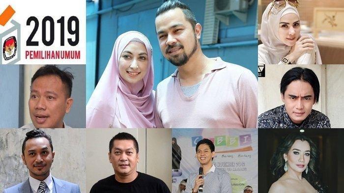 Sederet Politisi dan Artis Kondang yang Lolos dan Gagal Melenggang ke Senayan