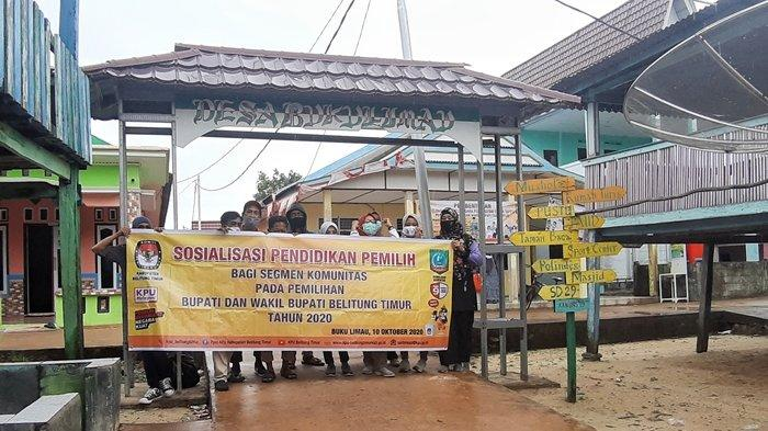 KPU Beltim Sosialisasi Pendidikan Pemilih di Buku Limau