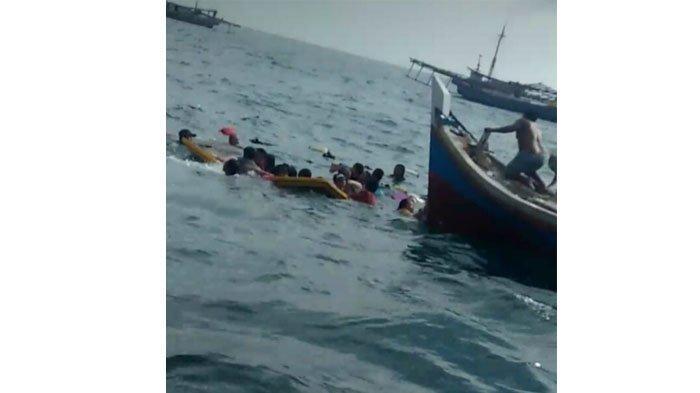 KSOP Tanjungpandan Sebut Transportasi Pengangkut 25 Penumpang Terbalik Berjenis Sampan