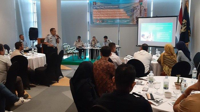 Imigrasi Tanjungpandan Sosialisasikan Permenkumham Nomor 3 Tahun 2020 Gandeng KKP