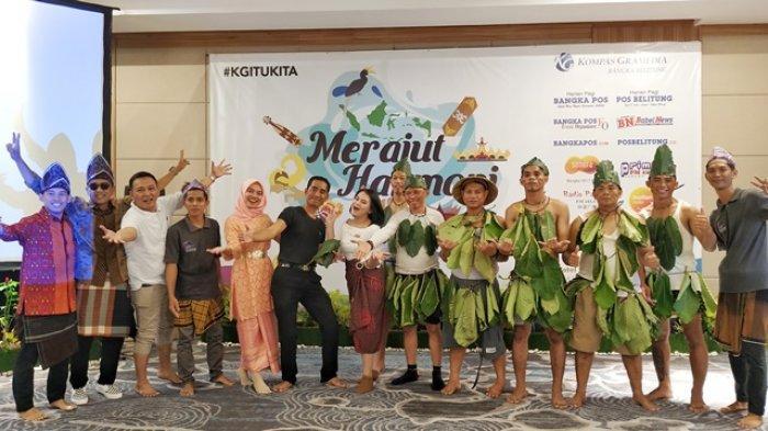 Pos Belitung Kompak Nyanyi Cendol Dawet, Meriahkan Syukuran Kompas Gramedia Group