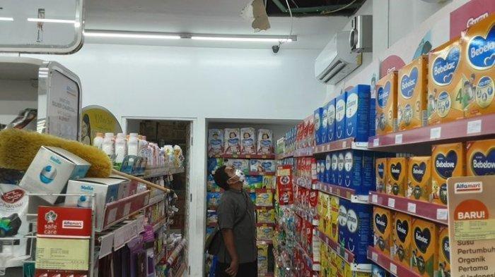 Ratusan Bungkus Rokok Raib, Maling Atap Minimarket