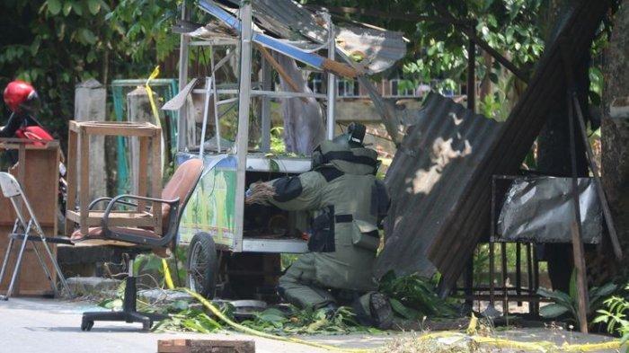 Gerobak Penjual Nasi di Aceh Meledak, Seorang Warga Terluka