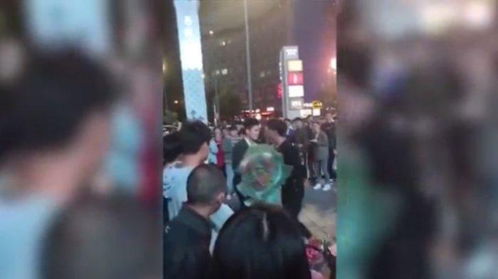 Video Dua Lelaki Berkelahi Ini Jadi Viral, Ternyata Dipicu Gara-gara Melamar Wanita yang Sama