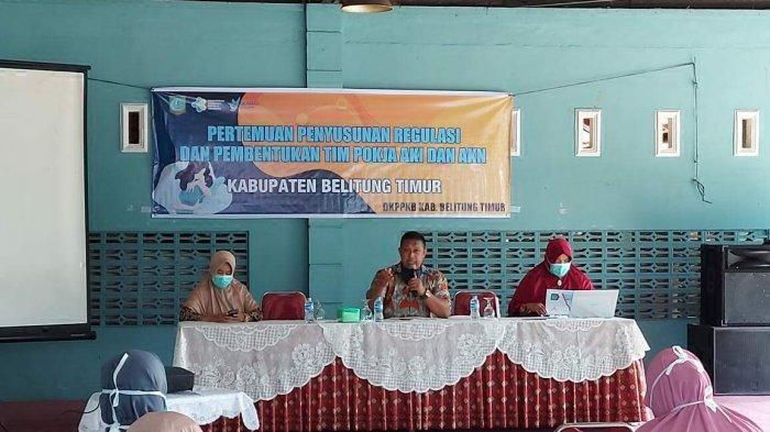 Dinas Kesehatan-PPKB Belitung Timur Bentuk Pokja