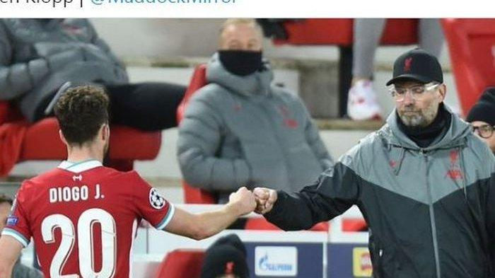 Roberto Firmino atau Diogo Jota? Juergen Klopp Tak Akan Pernah Pusing Soal Skuat Inti Liverpool