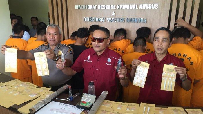 148 Tersangka Narkoba di Bekuk Jajaran Polda Bangka Belitung