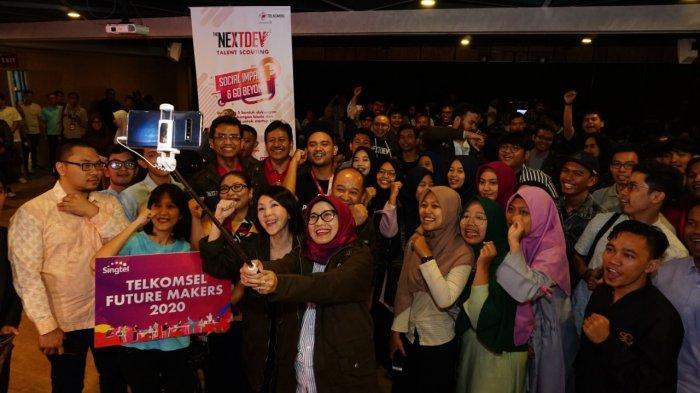 Telkomsel Gelar The NextDev Talent Scouting, Anak Muda Kembangkan Bisnis Berdampak Sosial EkonomI