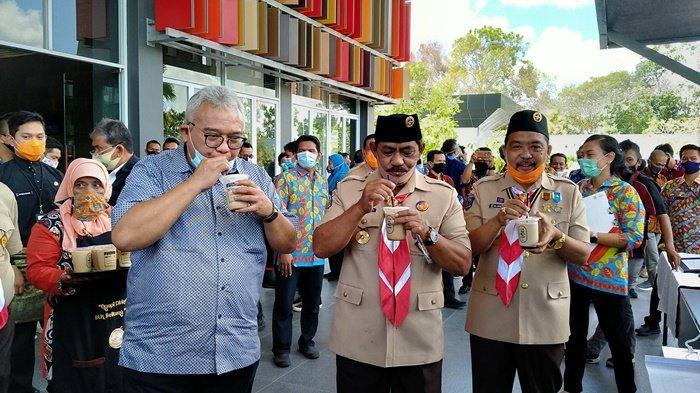 Nikmatnya Produk Lokal Sik-ok Name Coffee, Sampai Dipuji Dirjen Binalattas Kemenaker