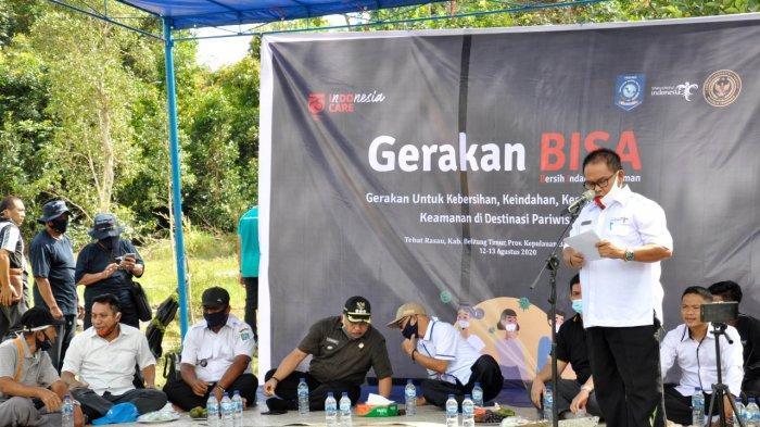 Disbudpar Belitung Timur Resmikan Gerakan BISA