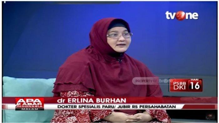 Dokter Erlina Beri Peringatan Masyarakat yang Terlanjur Mudik: Jangan Senang-senang Dulu