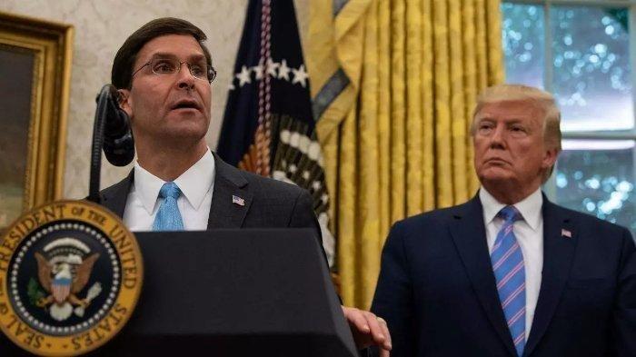 Menhan AS Mark Esper Dicopot, Kini Loyalis Donald Trump Mengisi Posisi Strategis di Pentagon