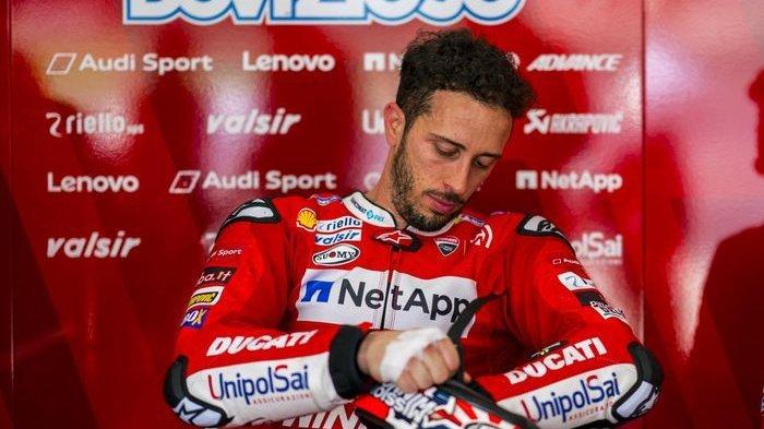 Kompetisi MotoGP 2020 Ditunda, KarirAndrea Dovizioso Bertambah Buruk