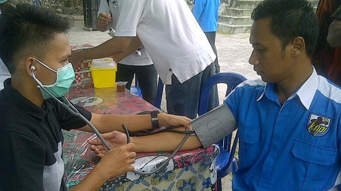 KNPI-Pemuda Pancasila Belitung Sumbang 50 Kantong Darah ke PMI