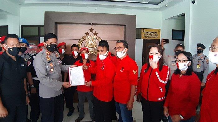 DPC PDI Perjuangan Kabupaten Belitung Dukung Penuh Proses Hukum Insiden Pembakaran Bendera Partai