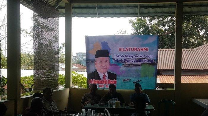 Darmansyah Husein Janji Akan Bawa Aspirasi Warga Belitung Hingga Sampaikan ke Paripurna DPD RI