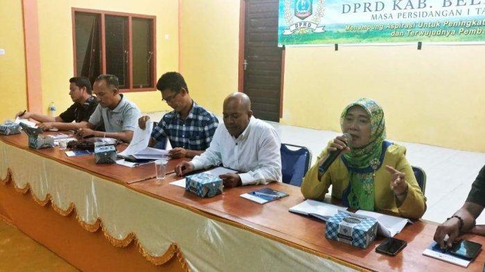 DPRD Belitung Timur Reses Menyerap Aspirasi Masyarakat
